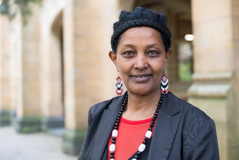 Lensa Dinka is a passionate advocate for her people, the Oromia, in Ethiopia.